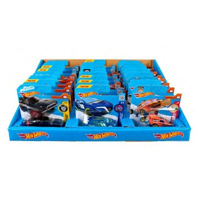 Expositor de 24 coches Hot Wheels 1:64 modelos surtidos