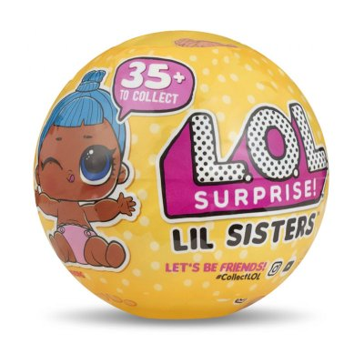 Bolas LOL Surprise Lil Sisters c/accesorios serie 3 wave 2