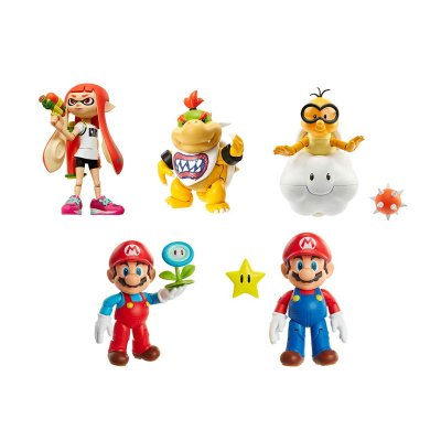 Wholesaler of Surtido 6 figuras coleccionables Super Mario 10cm