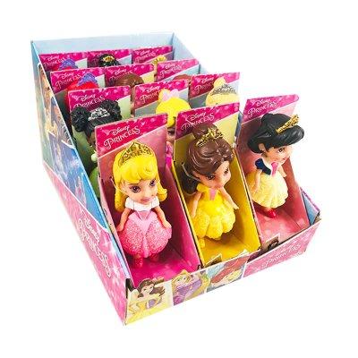 Expositor 12 Mini Muñecas Princesas Disney