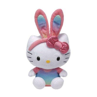 Peluche TY Beanie Boos Hello Kitty conejo arcoiris 15cm