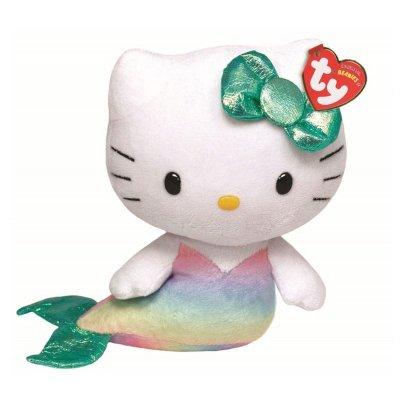 "Peluche TY Beanie Babies Hello Kitty sirena 15cm 6"""