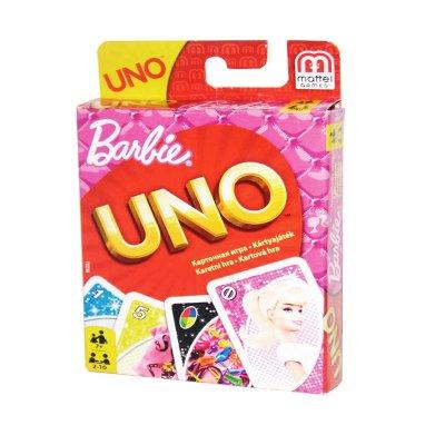 Cartas UNO Barbie Fast Fun For Everyone!
