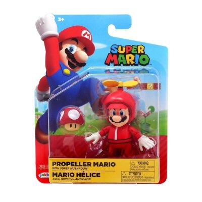 Figura c/seta Super Mario 10cm