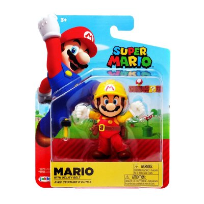 Figura c/martillo Super Mario 10cm