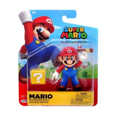 Figura c/bloque Super Mario 10cm