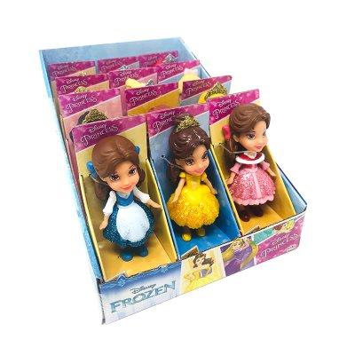 Expositor 12 Mini Figuras Princesas Disney