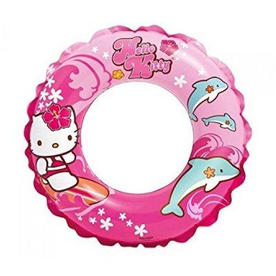 Flotador rueda hinchable piscina Hello Kitty