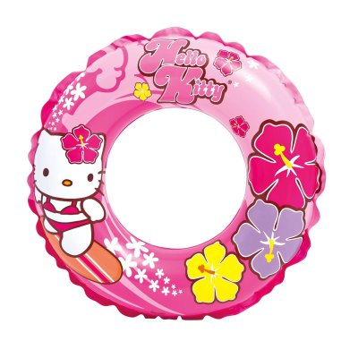 Wholesaler of Flotador rueda hinchable piscina Hello Kitty 61cm