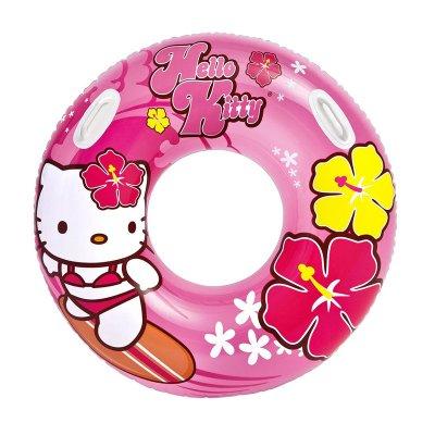 Flotador rueda hinchable piscina Hello Kitty 97cm