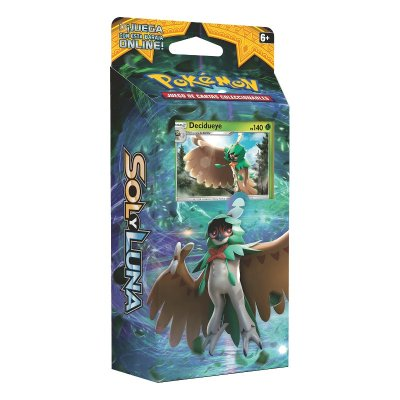 Baraja temática Pokémon Sol y Luna - Sombra Forestal