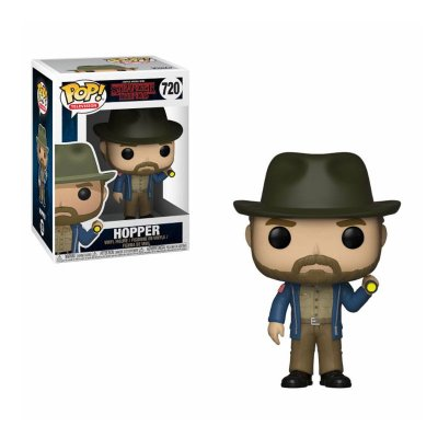 Figura Funko POP! Vinyl 720 Hopper c/linterna Stranger Things