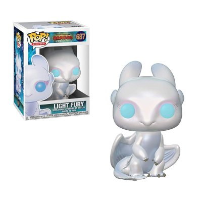 Figura Funko POP! Vynil 687 Light Fury Cómo Entrenar a tu dragón 3