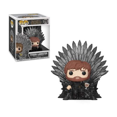 Figura Funko POP! 72 Juego de Tronos Tyrion Lannister en Trono de Hierro