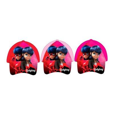 Gorra niña Prodigiosa: Las Aventuras de Ladybug (Miraculous) 3 modelos surtidos