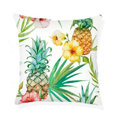 Funda cojín tropical 45x45cm