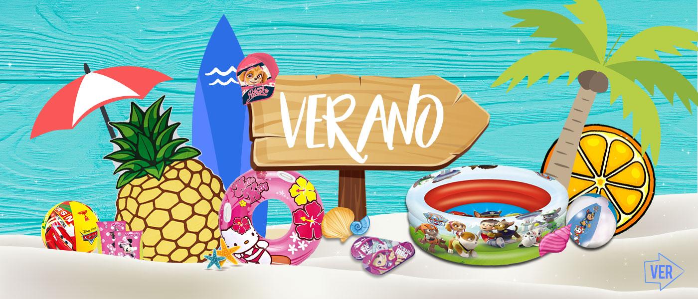 Artículos de Verano Al Por Mayor: Manguitos, Flotadores, Bañadores, Gorras, Parasoles, etc. | Licencias Infantiles: Disney, Marvel, Nickelodeon