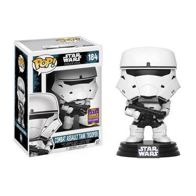 Figura Funko POP! Vynil Bobble 184 Star Wars Combat Assault (Ed Limitada)