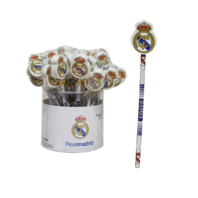 Distribuidor mayorista de Lápiz con goma Real Madrid