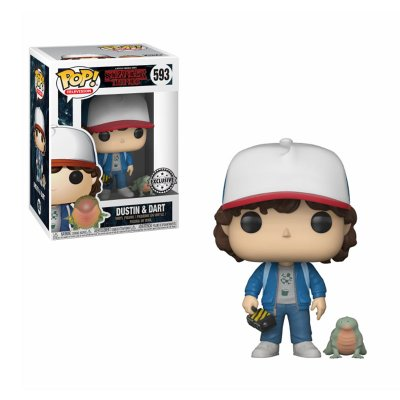 Figura Funko POP! Vinyl 593 Dustin c/Dart Stranger Things(Ed.Limitada)