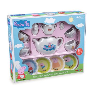 Set de porcelana de Peppa Pig