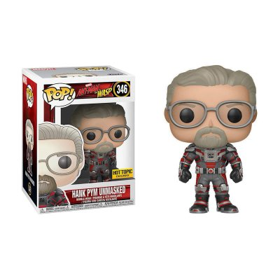 Figura Funko POP! 346 Hank Pym Unmasked Ant-Man and the Wasp(Ed.Limitada)