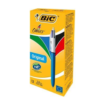 Bolígrafo Bic 4 colores en 1
