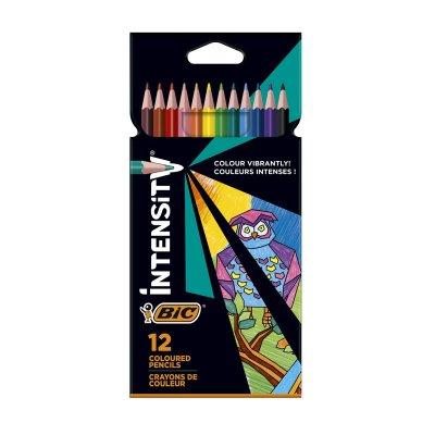 Caja de 12 lápices de colores Bic Intensity