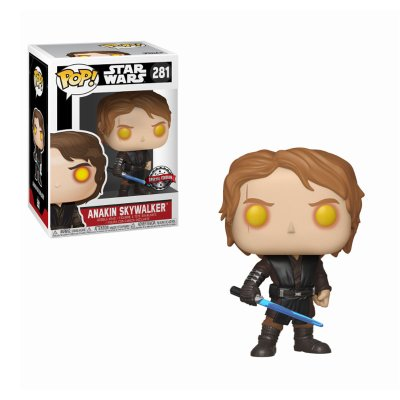 Figura Funko POP! Vynil Bobble 281 Anakin Skywalker Star Wars (Ed.Limitada)