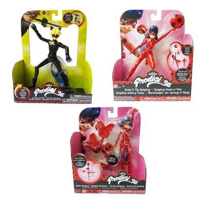 """Figuras con acción Prodigiosa Ladybug 17cm 6"""""""