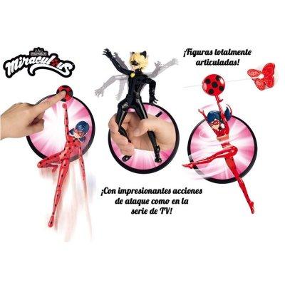 """Distribuidor mayorista de Figuras con acción Prodigiosa Ladybug 17cm 6"""""""