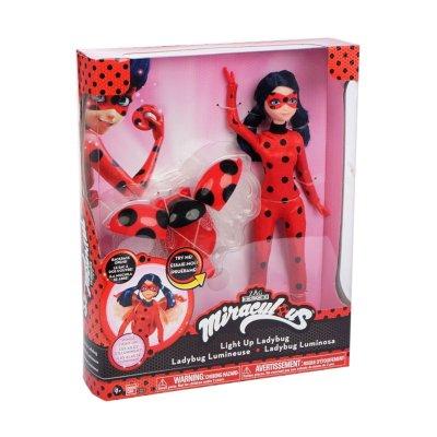 Muñeca Deluxe Ladybug luminosa