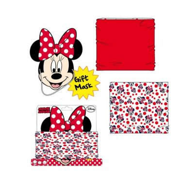 Braga cuello c/mascara Minnie Mouse Disney
