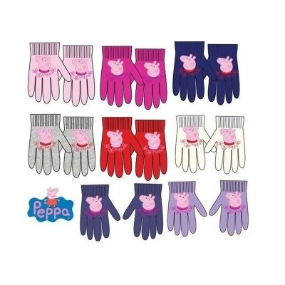 Guantes infantiles Peppa Pig 8 modelos