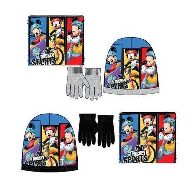Set gorro guantes y braga Mickey Mouse