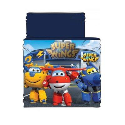Braga cuello Super Wings - azul