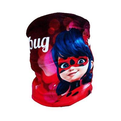 Braga cuello polar c/mascara Ladybug