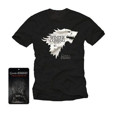 Camiseta adulto Juego de Tronos Winter is Coming Stark