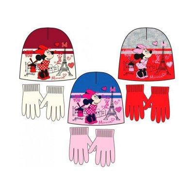 Set gorro guantes Minnie Paris