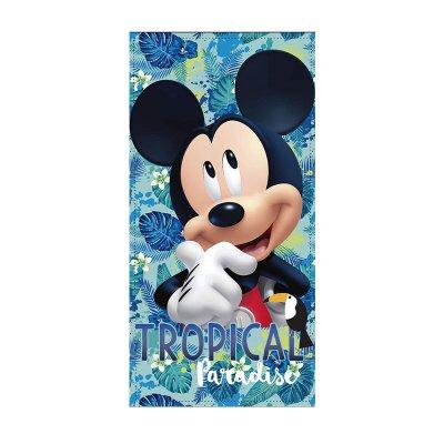 Wholesaler of Toalla microfibra Mickey Mouse Tropical 70x140cm