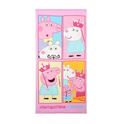 Wholesaler of Toalla microfibra Peppa Pig Friends 70x140cm
