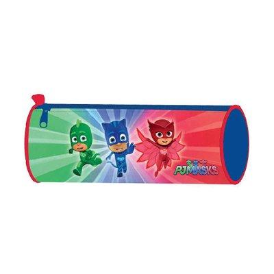 Estuche cilíndrico PJ Masks Hero 20cm