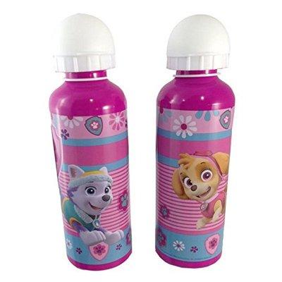 Botella aluminio 500ml Paw Patrol Girls (Patrulla Canina)