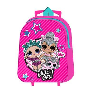 Wholesaler of Mochila Trolley infantil LOL Surprise Glitter