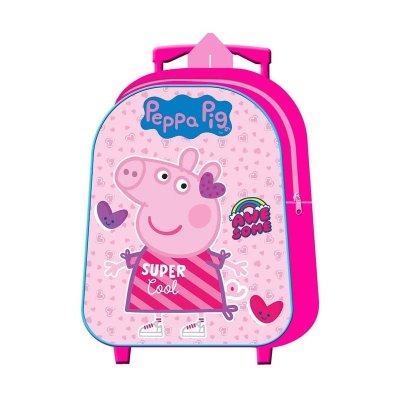Wholesaler of Mochila Trolley infantil Peppa Pig Cool
