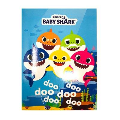 Libro para colorear Baby Shark