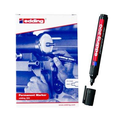 Wholesaler of Rotulador permanente Edding 300 01-negro 1.5-3mm