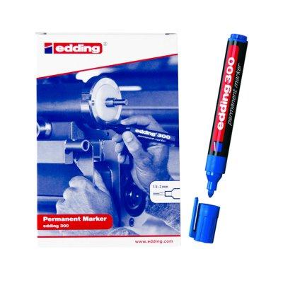 Wholesaler of Rotulador permanente Edding 300 03-azul 1.5-3mm