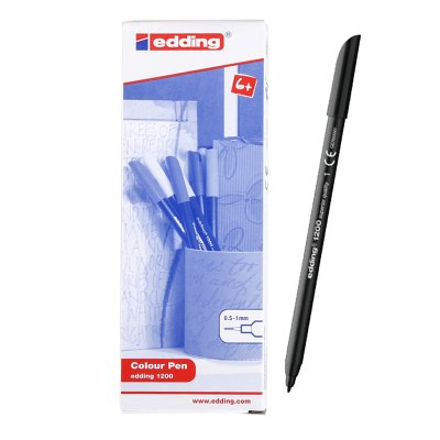 Distribuidor mayorista de Rotulador Edding 1200 01-negro 1mm