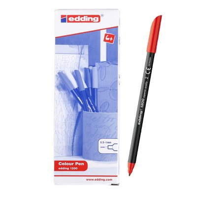 Rotulador Edding 1200 02-rojo 1mm
